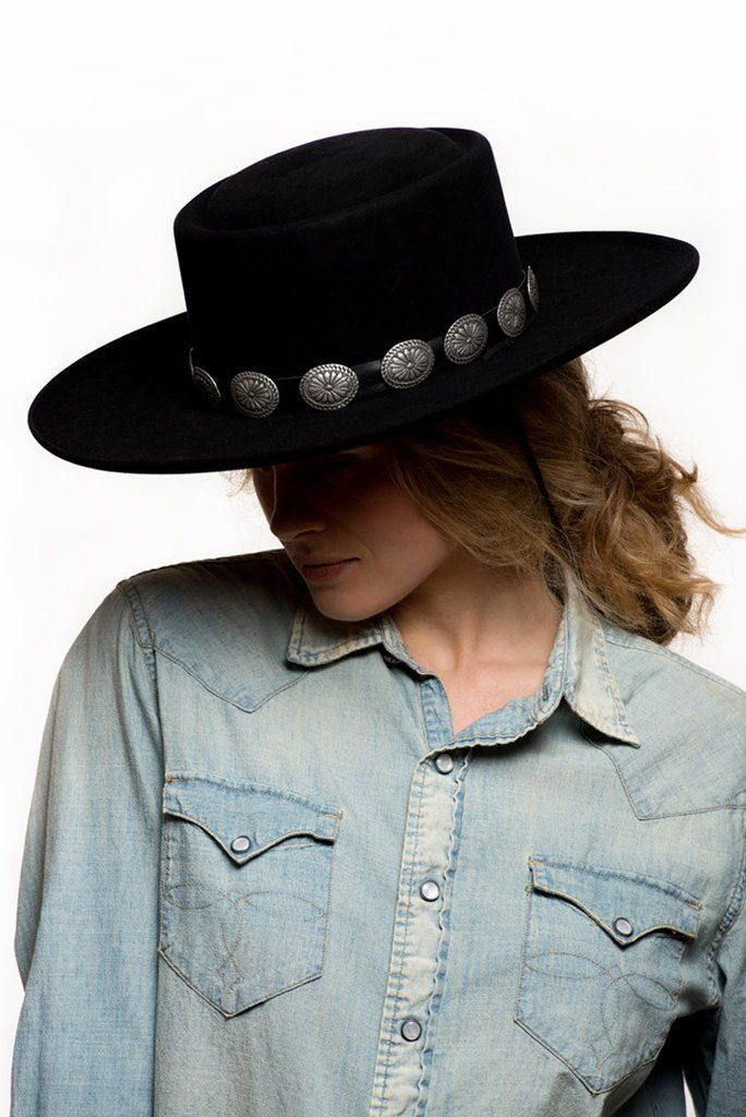eeadaab5622097 Les Gauchos Bolero Hat 8 to 12 weeks estimated delivery All returns of hats  and/or boots are subject to exchange or store credit only.