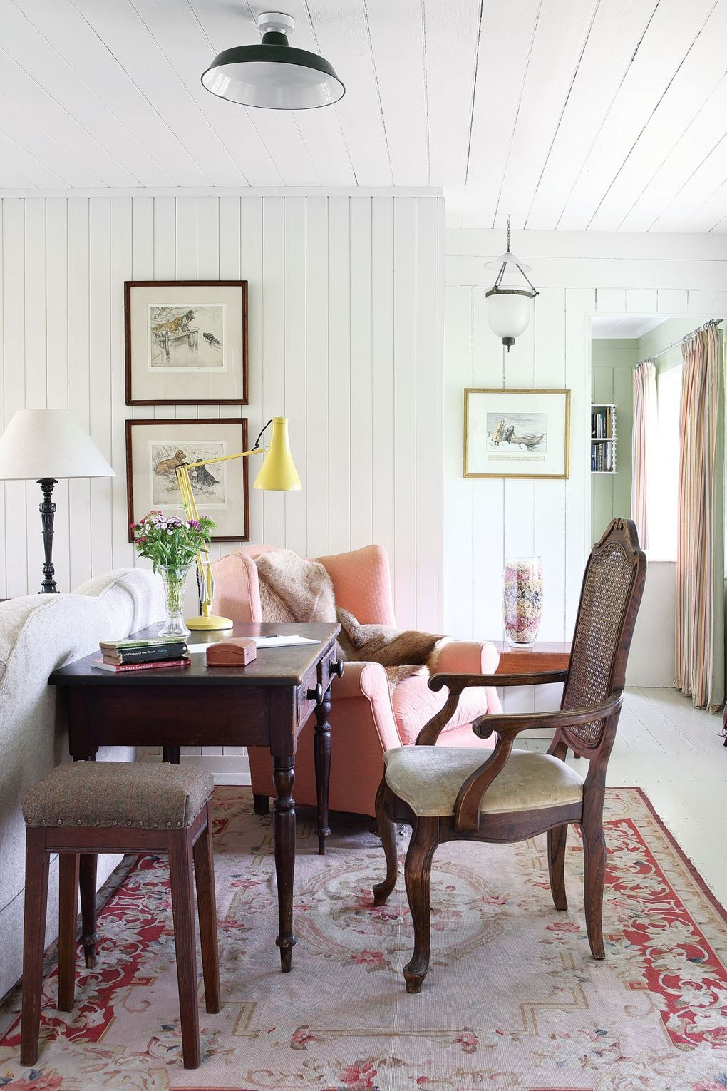 A tiny Scottish fishing lodge lovingly restored | Cosy, Living rooms ...