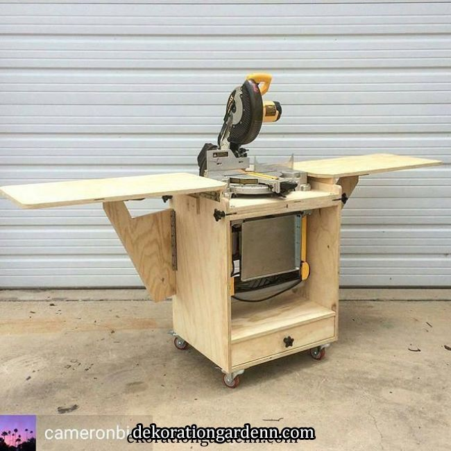 Like My Mobile Miter Saw Station But Also Dig My Flip Top Tool Stand Cameronbici Figured Why Pick One When Yo Mitre Saw Station Miter Saw Diy Miter Saw Stand