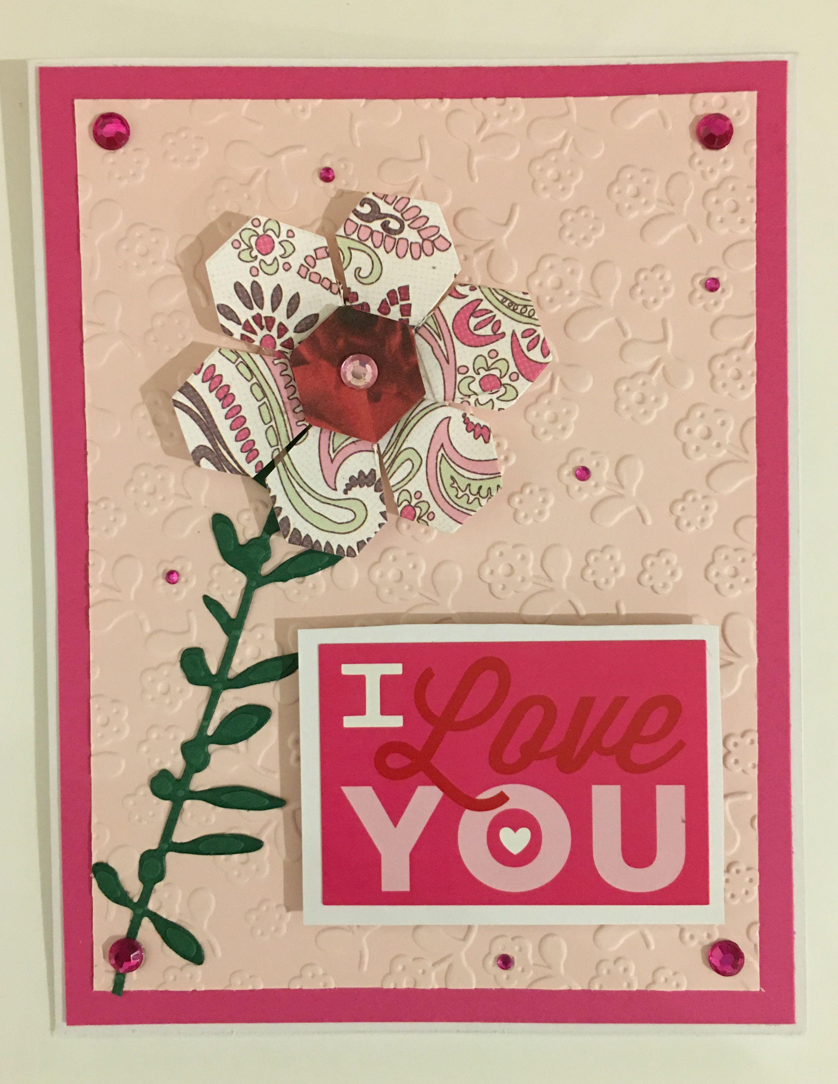 Cby Handmade Valentines Day Greeting Card Cby Valentines