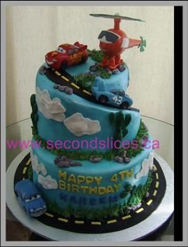 Custom Birthday Cakes Cupcakes in Edmonton Alberta by Second Slices