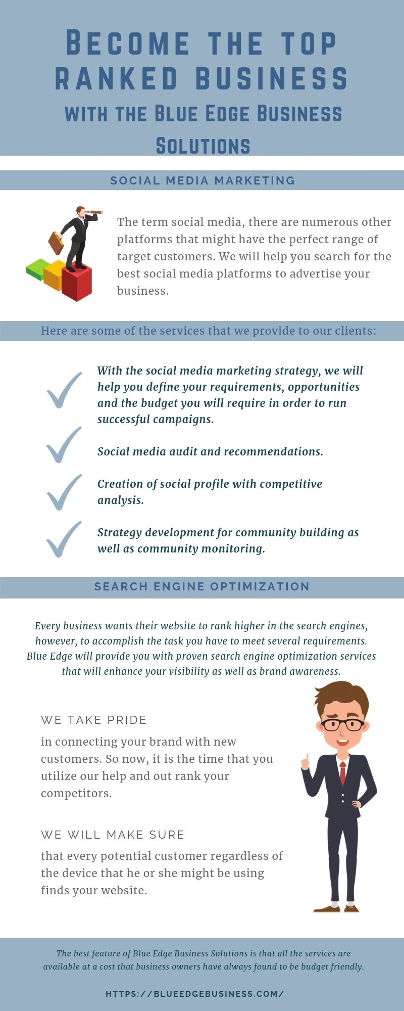 The best feature of Blue Edge Business Solutions is that