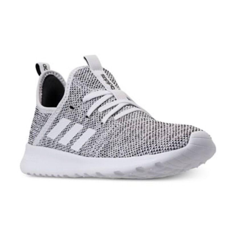 Adidas cloud foam sneaker | Adidas shoes women, Grey adidas shoes ...