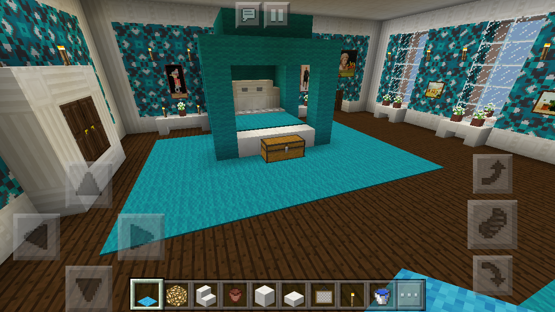 My Minecraft Mansion Minecraft Project |Minecraft Mansion Inside Bedroom