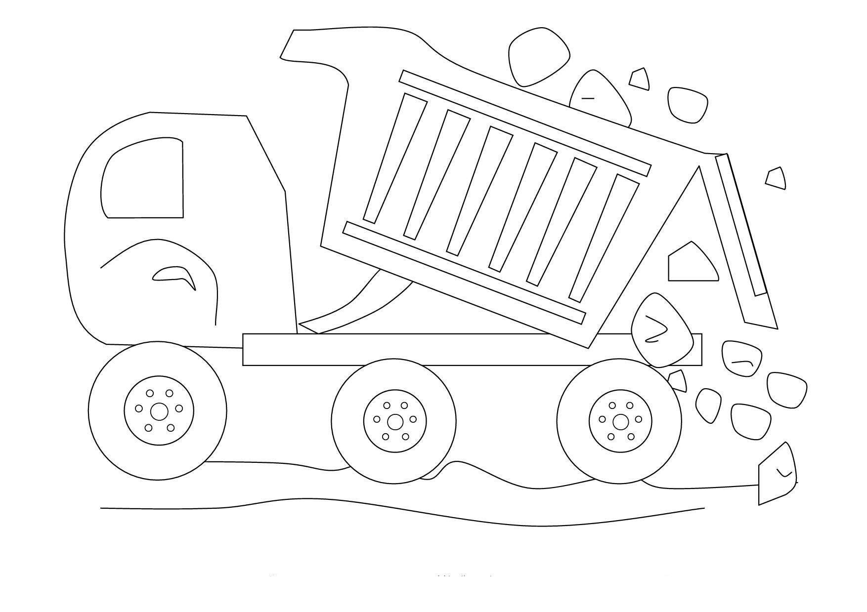 Garbage Truck Coloring Page Inspirational Printable Dump Truck Coloring Pages Monster Truck Coloring Pages Sports Coloring Pages Truck Coloring Pages