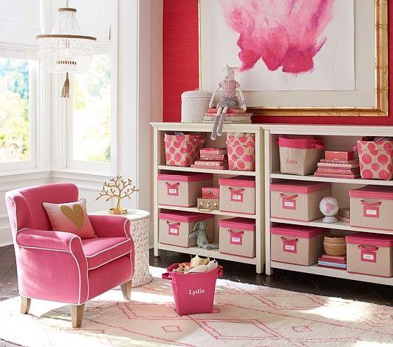 Delaney Rug - Pink | Pottery Barn Kids | Kids bedrooms | Pinterest ...