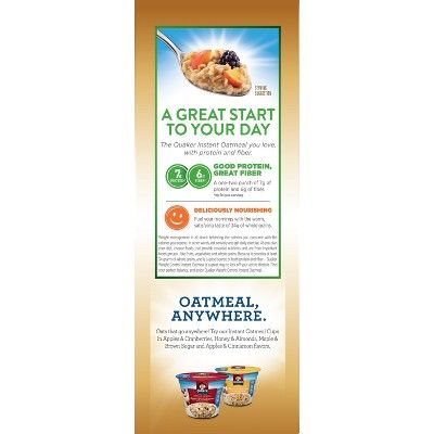 quaker weight control instant oatmeal