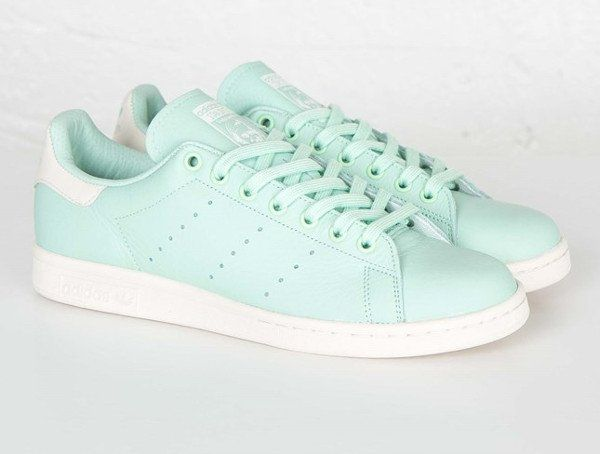 timeless design b9421 d5630 Adidas Originals Stan Smith Frozen Green (homme  femme) ...