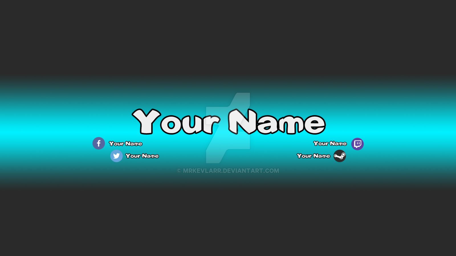 Channel Art Template purple by MrKevlarr on DeviantArt