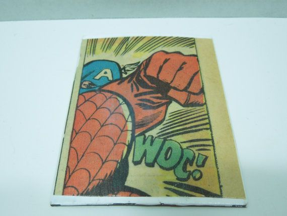 Captain America Magnet1960's Comic Book by Moonlightdecorator, $7.00
