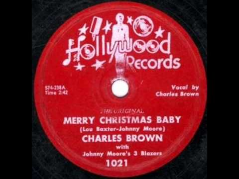 charles brown merry christmas baby dec 54
