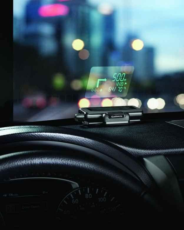 Garmin Dashboard Mounted Windshield Projector, $148 | 31…