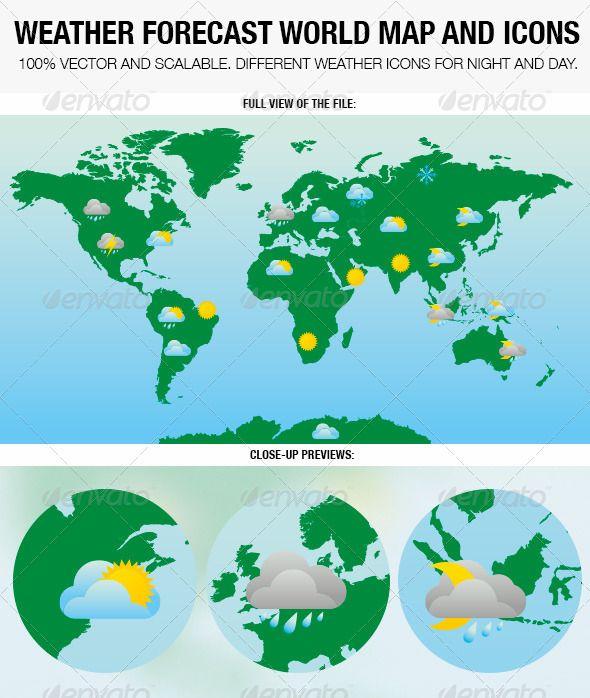 World Weather Forecast Map Factsofbelgium