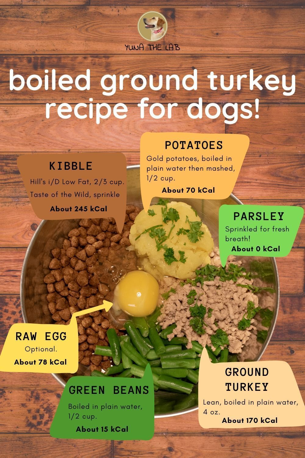 Boiled Ground Turkey For Dogs Recipe (Thanksgiving
