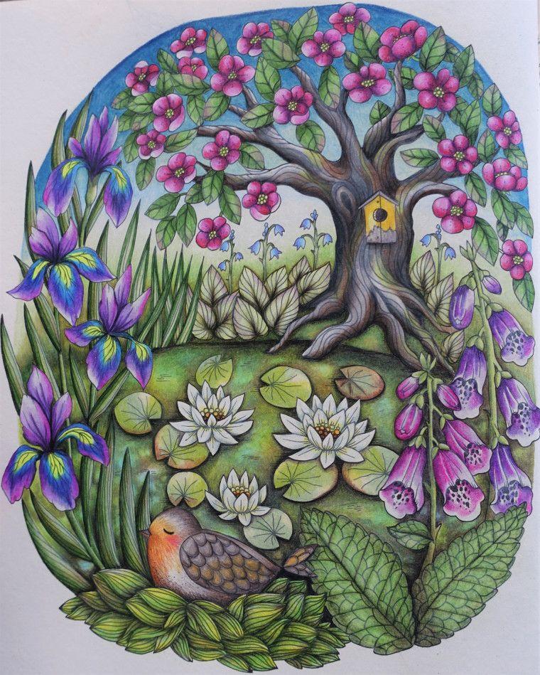 Book Review: Twilight Garden (Blomster Mandala) | Blomster mandalas ...