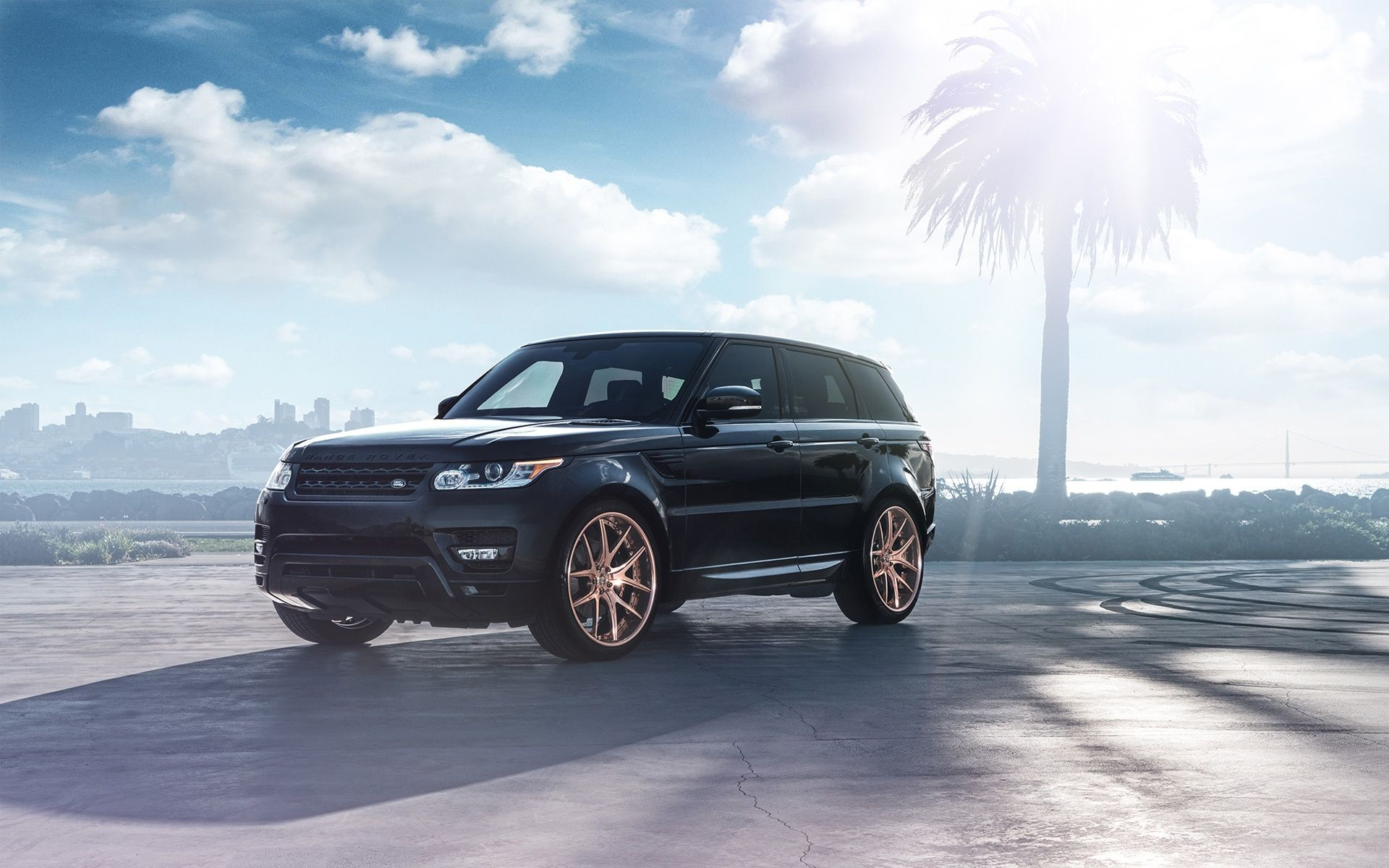 Sport Wallpaper Land Rovers: Land Rover Range Rover Sport SVR Wallpaper HD Car