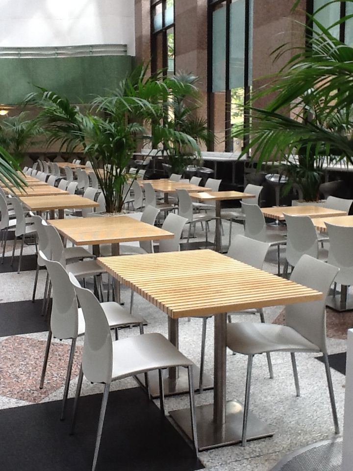 ENEA's #Global chairs, by Josep Lluscà, at the Wintergarden Centre in Sydney (Australia).