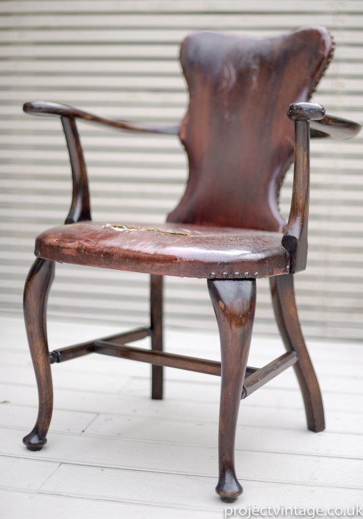 Marvelous Antique Georgian Desk Chair Attributed To A H Parker Pall Machost Co Dining Chair Design Ideas Machostcouk
