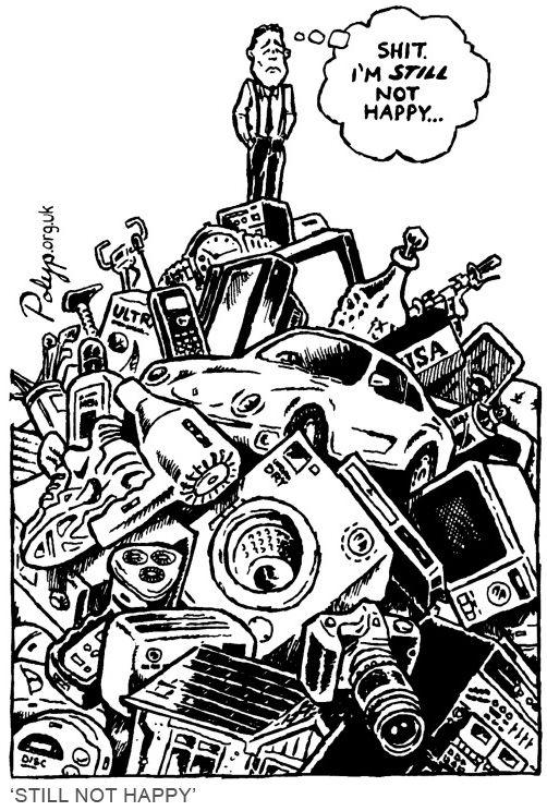 Polyp Cartoon Still Not Happy Jpg 502 744 Pixels Consumerism