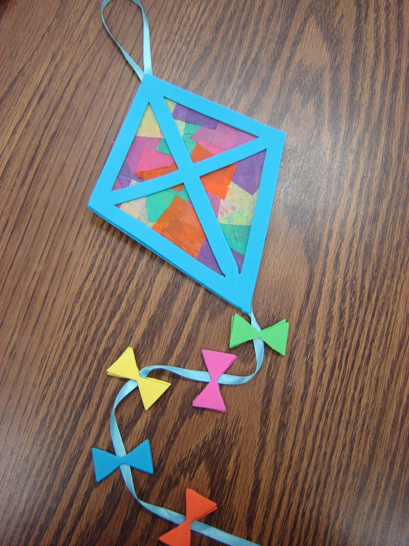 Kite Project Perfect Springtime Craft For Sac Pinterest