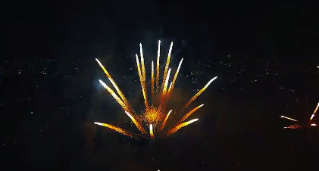 Video | ¡Dentro de un fuego artificial!