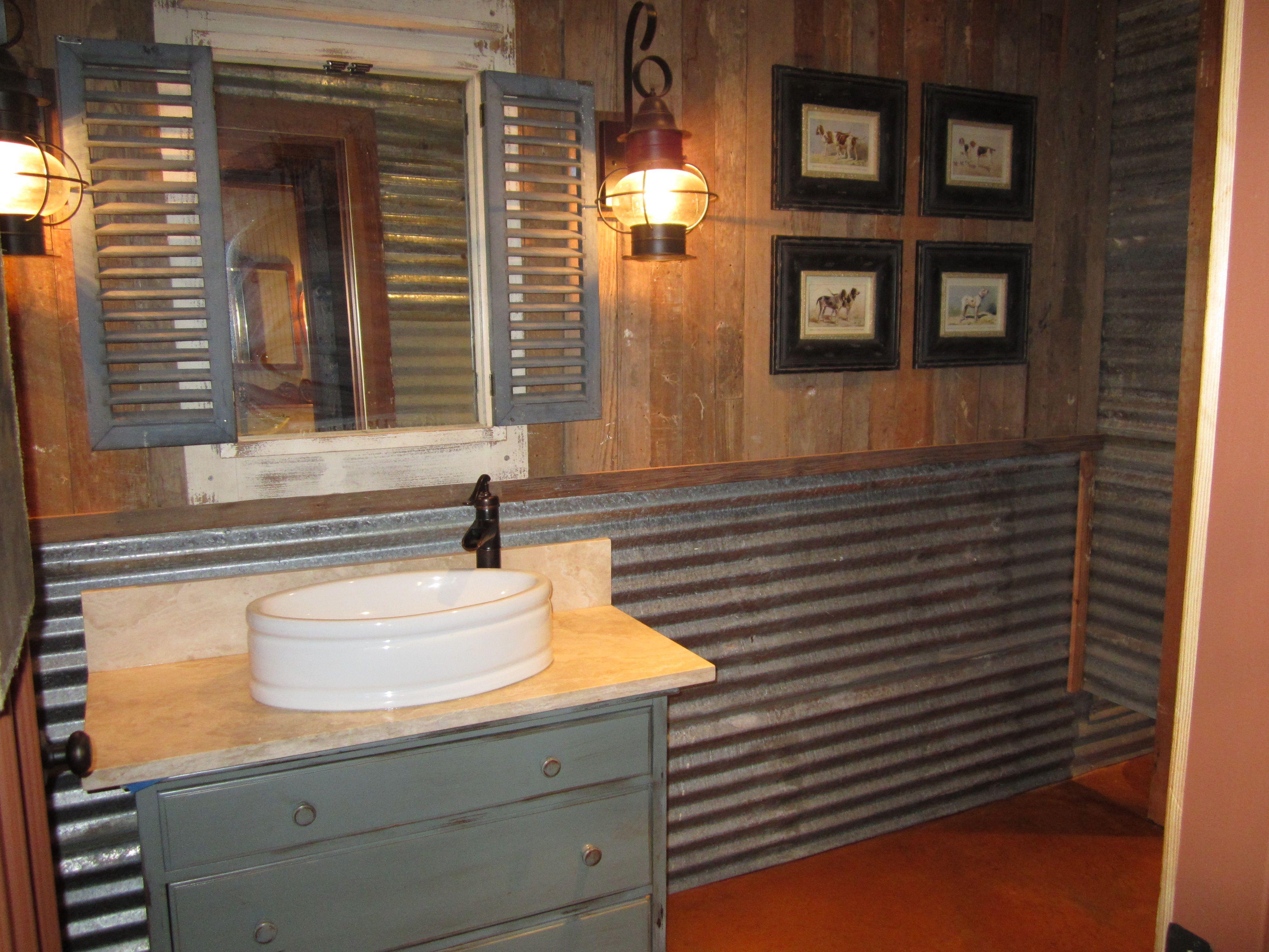 Wood Bathroom Wall Ideas
