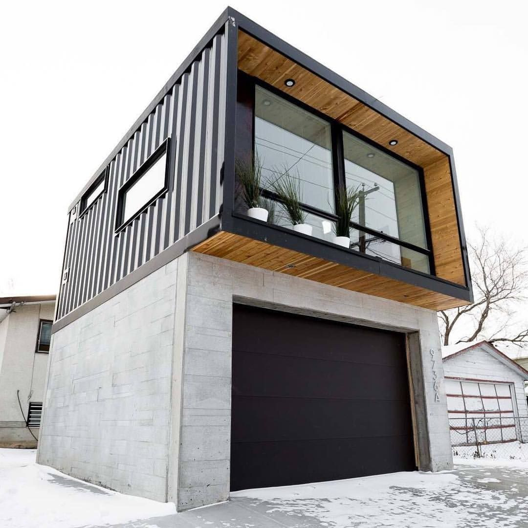Garage Design Architecture: Pin By Filip Sundmann On Domy In 2019
