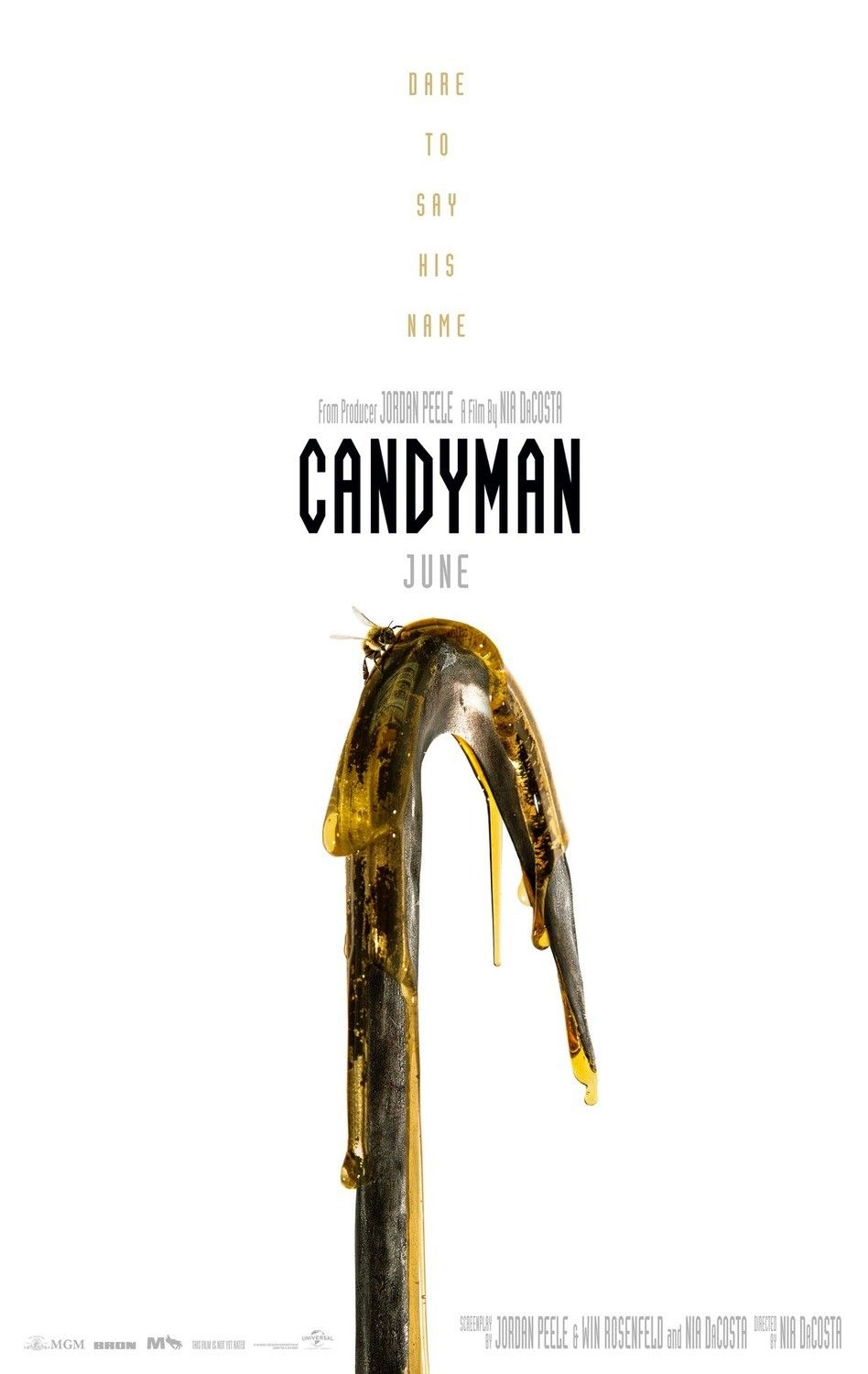 First Teaser Poster For The Remake Of Candyman Candyman