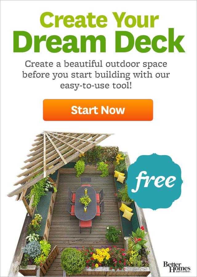 Arrange a Deck - Deck Plan and Design App - BHG.com ...