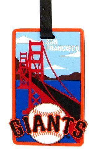 San Francisco Giants - MLB Soft Luggage Bag Tag by aminco. $7.95. Attractive laser cut rubber luggage tag with San Francisco Giants colors and logo. Reverse side contains clear window housing your contact information.