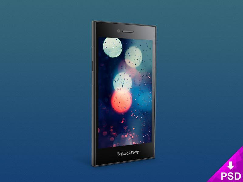 BlackBerry Leap Mockup | PSD Resources | Android blackberry, Mockup