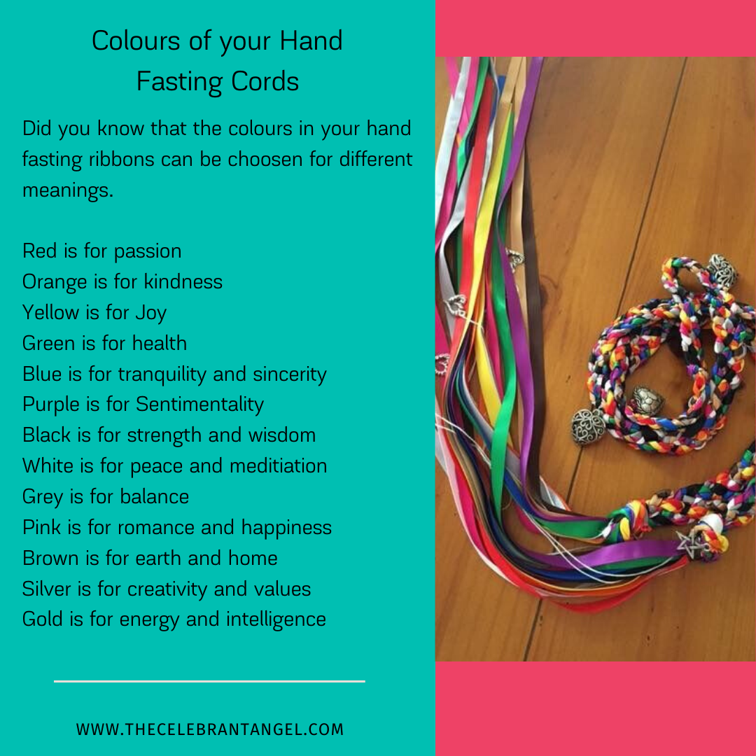 Each Colour Has A Meaning For Your Ribbons In A Hand