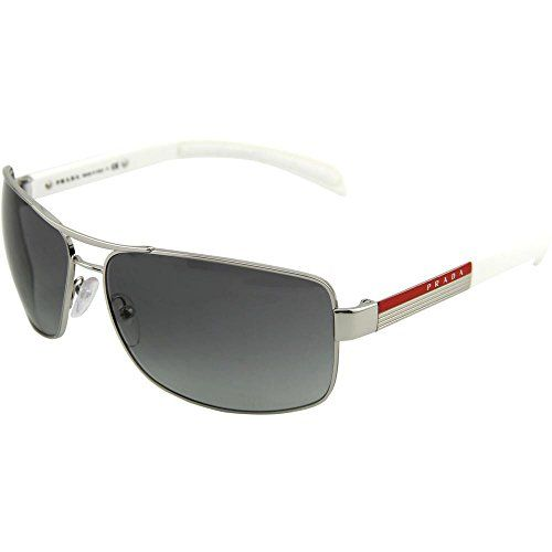 7c4f551a6776 Prada Linea Rosa PS 54IS Sunglasses Styles Silver Frame Gray Gradient Lenses     Check it out! Amazon Affiliate Program s Ads.