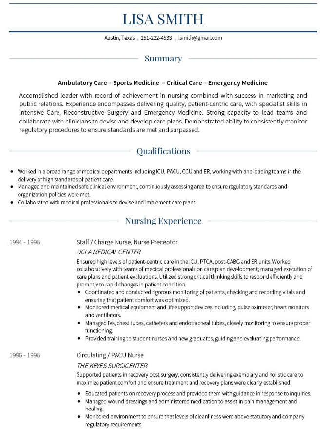 The 20 Best Cv Examples For Your Inspiration Resume Examples Cv Examples Professional Resume Examples
