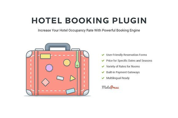 Hotel Booking Engine for WordPress Pinterest Wordpress and Web - reservation forms in pdf