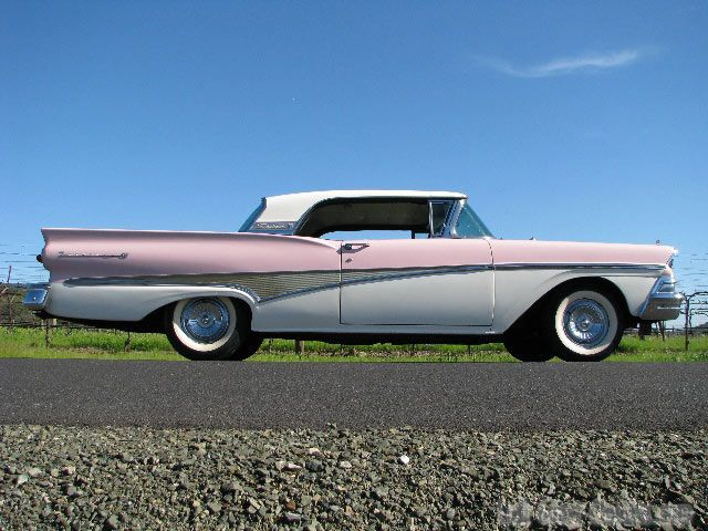 1958 Ford Fairlane Skyliner Convertible For Sale Ford Fairlane