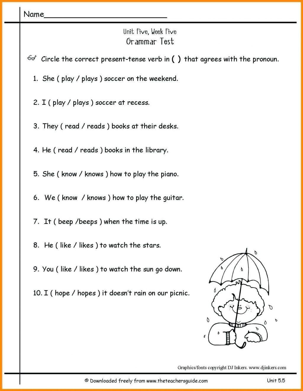 7 Preschool Reading Worksheets To Print In
