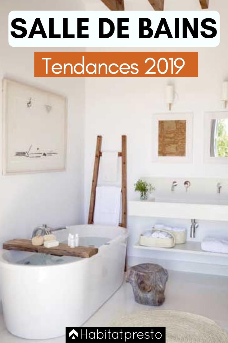 Tendances de salle de bains 2019 les 7 incontournables - Tendance carrelage salle de bain 2020 ...