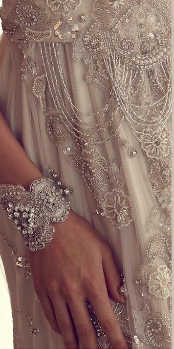 Bridal details by Anna Campbell