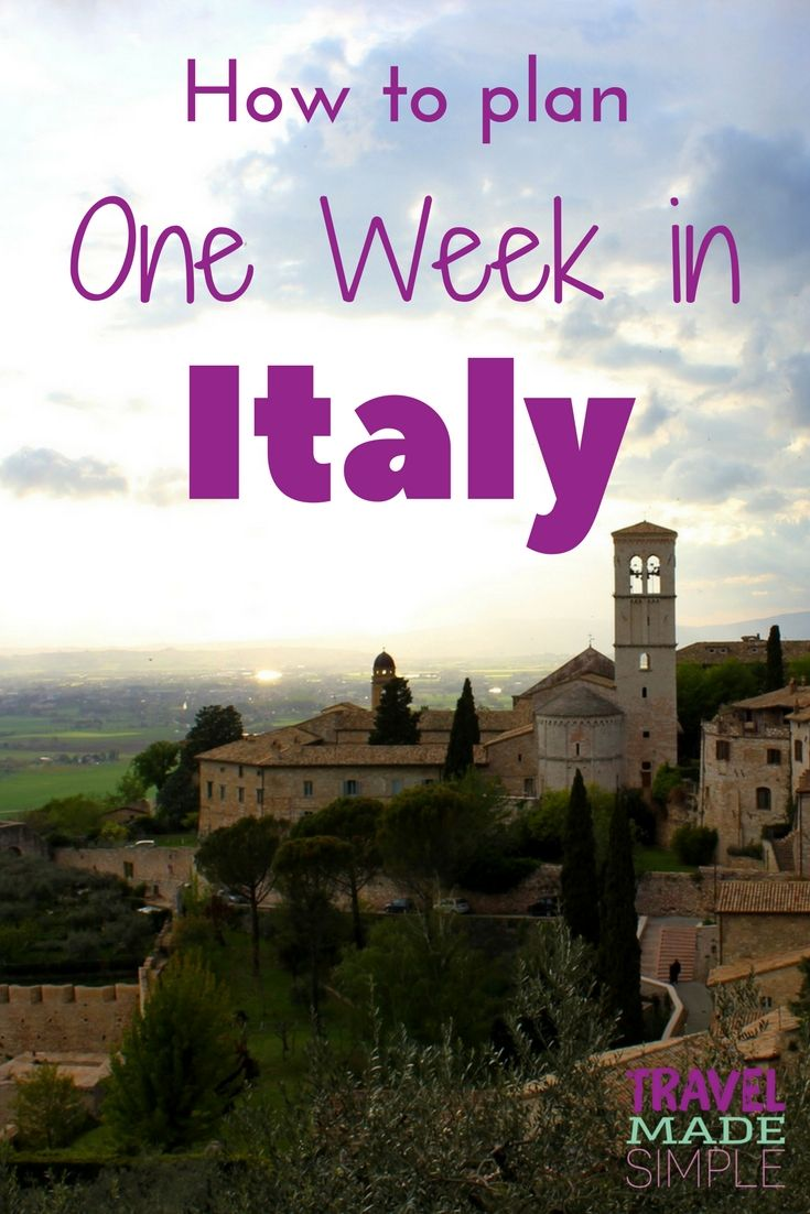 Photo of Simple Italy Itinerary: Ideas for Planning One Week in Italy | Travel Made Simple