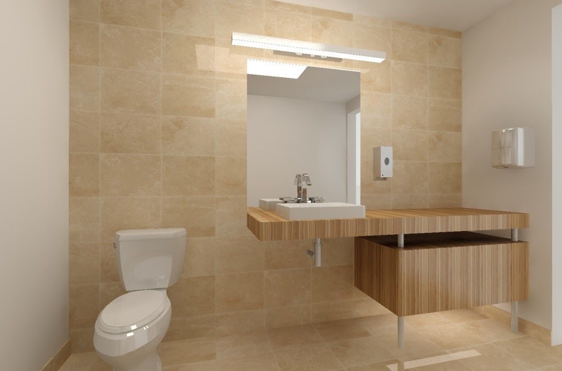 Cole\u0027s Private Office Bathroom. The where he\u0027s changed into his ...