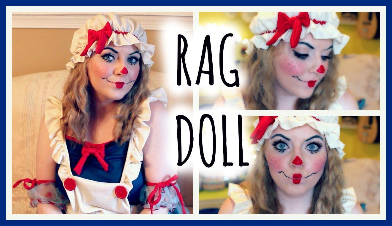 Rag Doll Makeup Tutorial Costume Make Up Pinterest Rag Doll