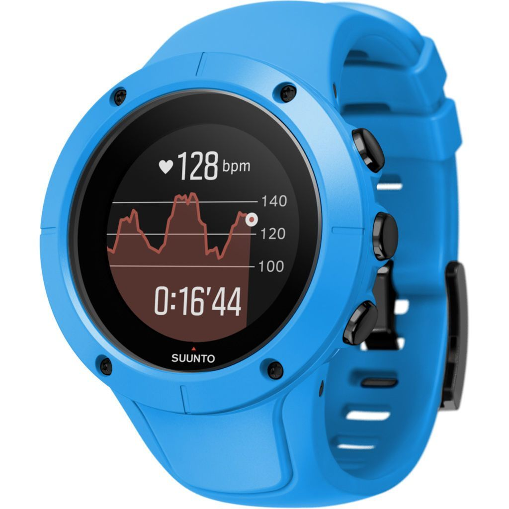 Suunto Spartan Trainer Wrist Hr Multisport Gps Watch Blue With Images Army Watches Unusual Watches Buy Watches Online