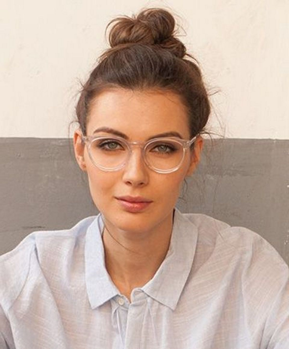 10a4bc6147bc Clear Glasses Frame For Women's Fashion Ideas #Transparent #Eyeglass (16)