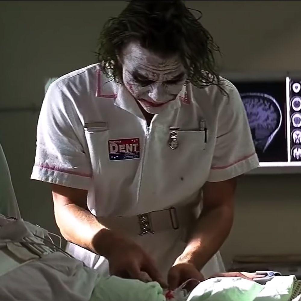 Nurse Joker Costume - The Dark Knight Fancy Dress