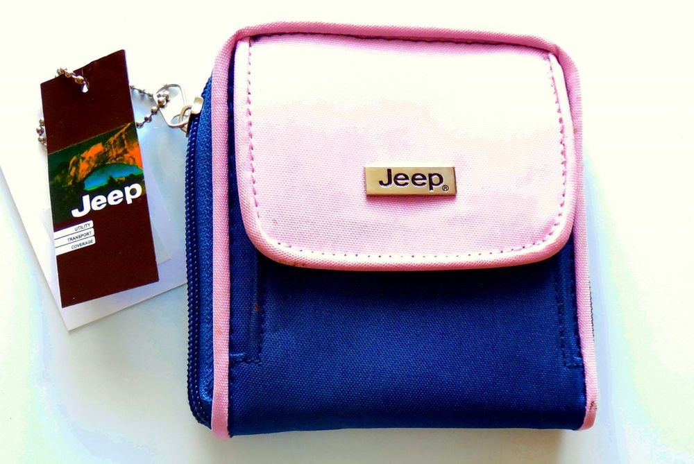 Details about compact ladies womens genuine jeep zip