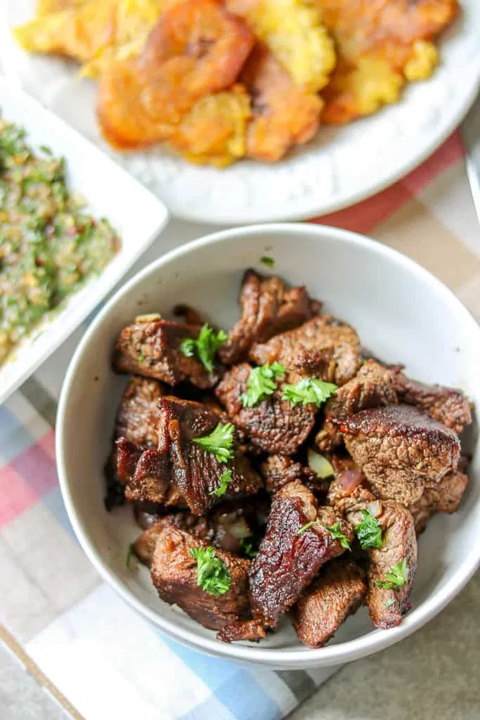 Photo of Haitian Tasso (Steak Bites, Fried Beef Tips, Beef Bites) With Video – Savory Thoughts