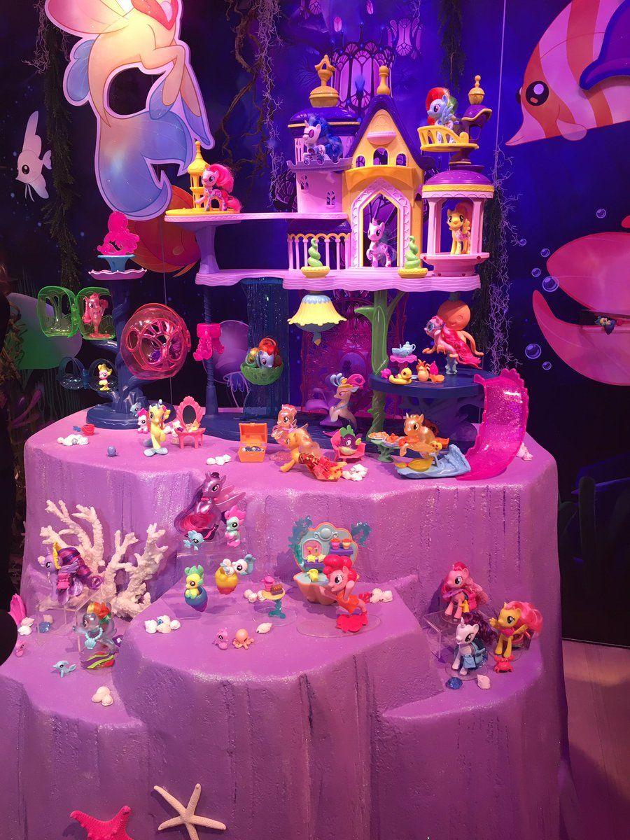 My Little Pony Movie Sea Pony Play Set In 2017 Toy Fair