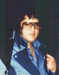Elvis Presley  1977.