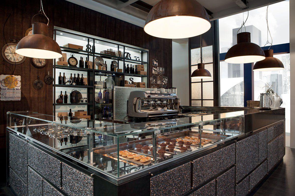 Arredi Bar Moderni arredo bar modello garage - frigomeccanica | bakery display